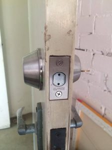 Lock installed by Mobilisation Locksmith PTY LTD with the helping hand of Blake Cole - Domestic Locksmith